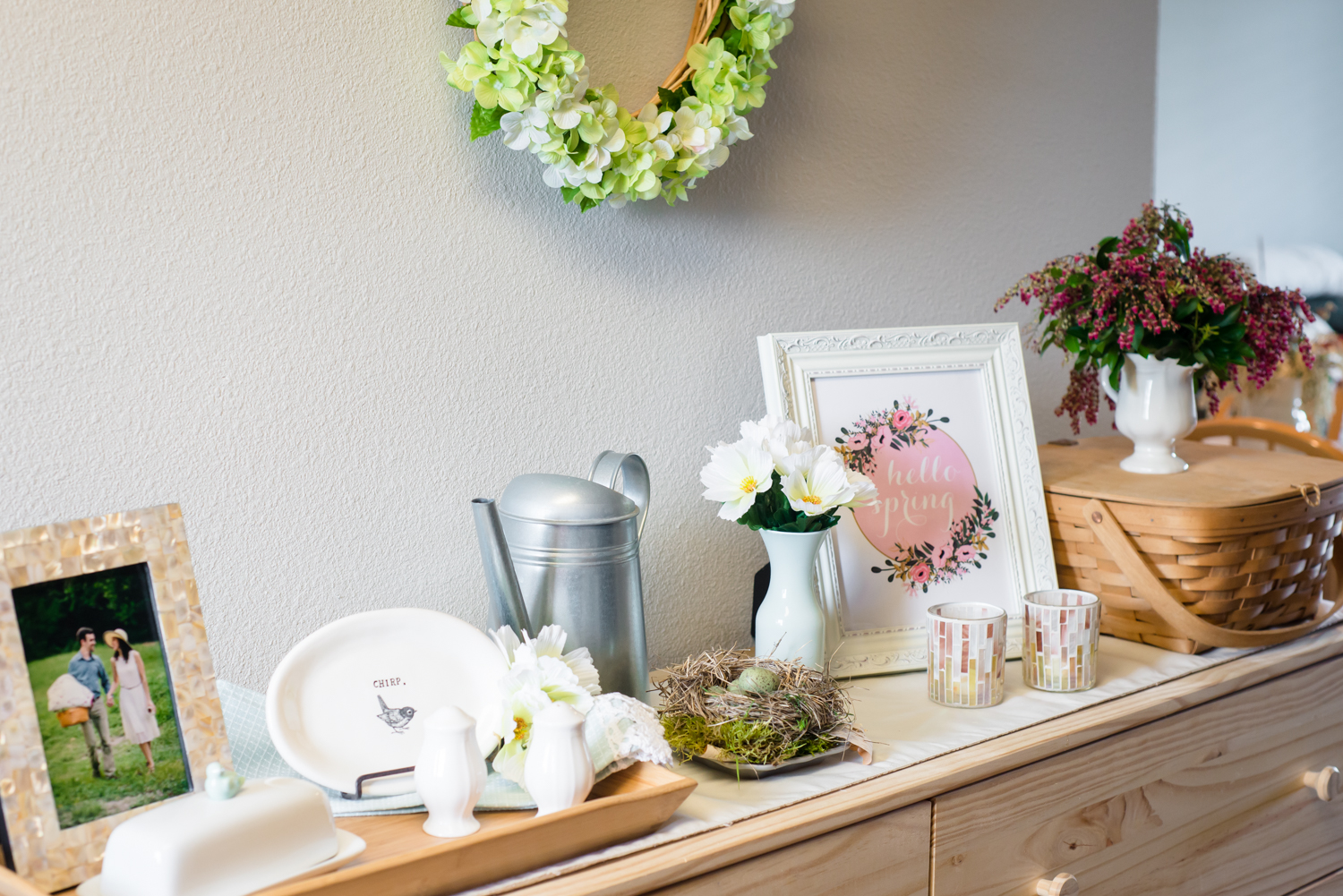 Cheap Spring Decor DIY Ideas