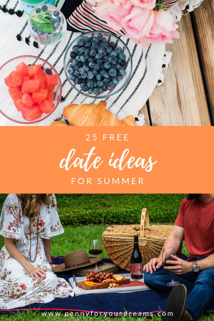 25 Free Fun Summer Date Ideas Inspiration For A Summer Of Love
