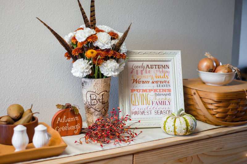 Rustic Autumn Decor (and Our Current Plans)