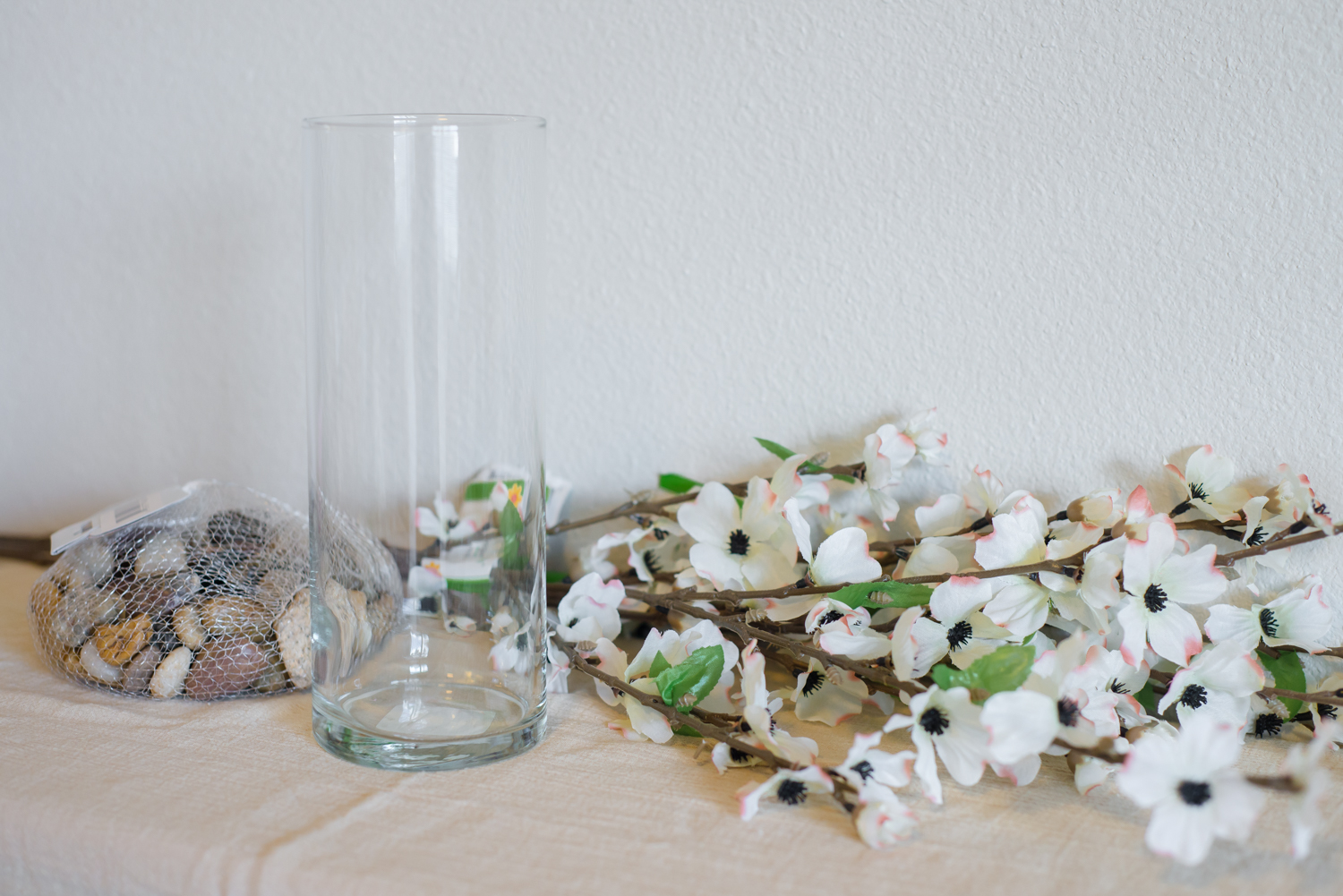 $6 Dollar Tree Floral Arrangement | Dogwood Blossom DIY