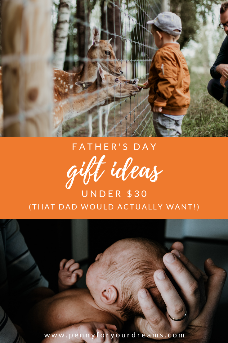 Father's Day Gifts Under $30 (that Dad will love)