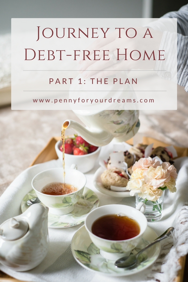 Journey to a Debt-Free Home | The Plan (part 1)