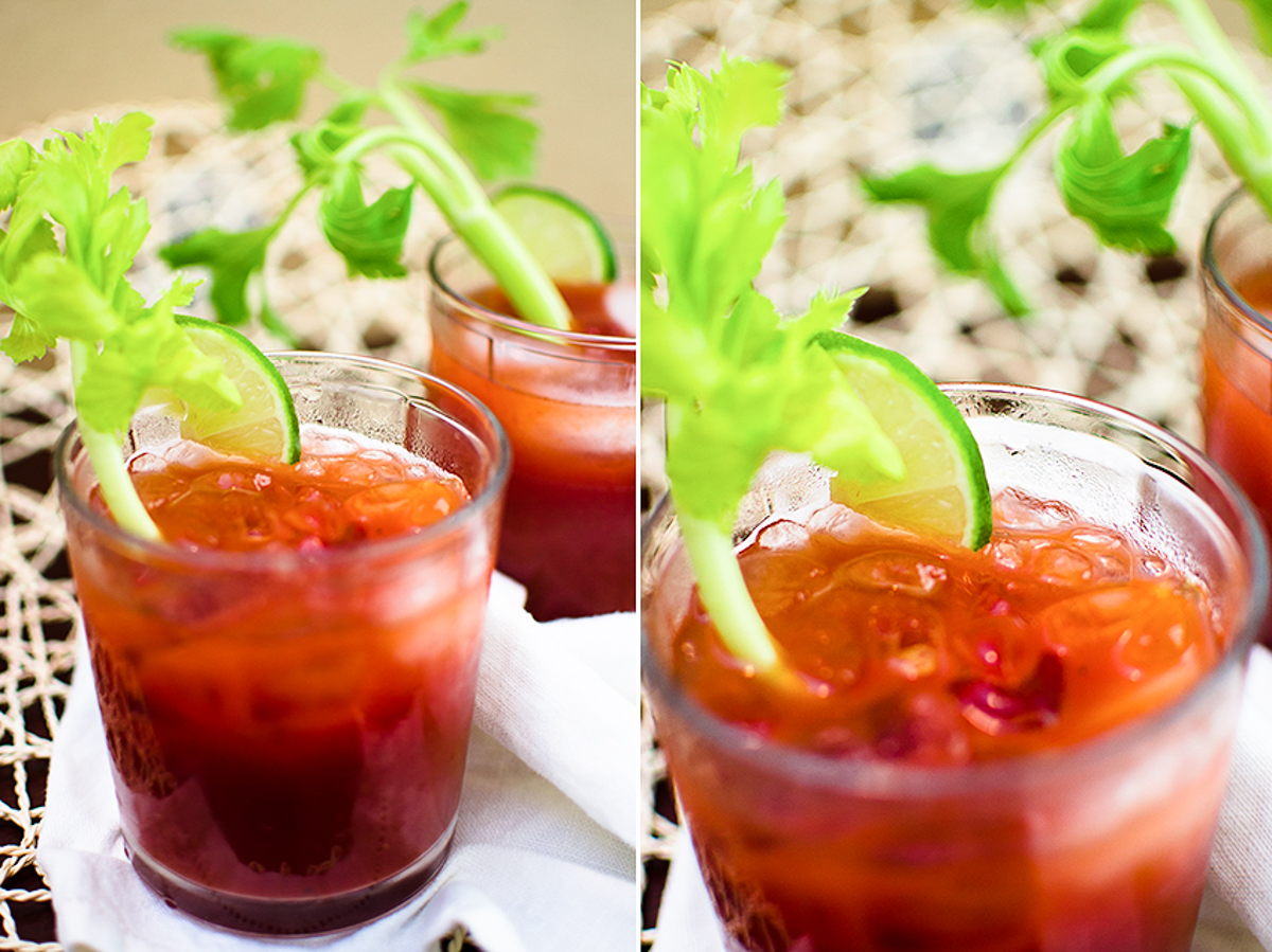 Virgin Bloody Mary Drinks | 5 minute Recipe