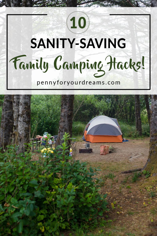 10 Family Camping Hacks