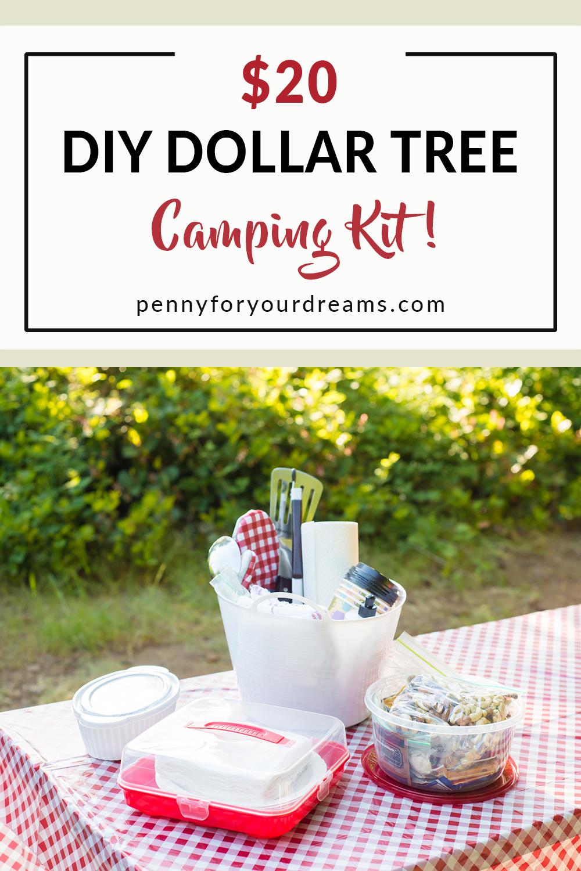 $20 Dollar Tree Camping Kit   Budget-Friendly Kitchen & Dining Supplies