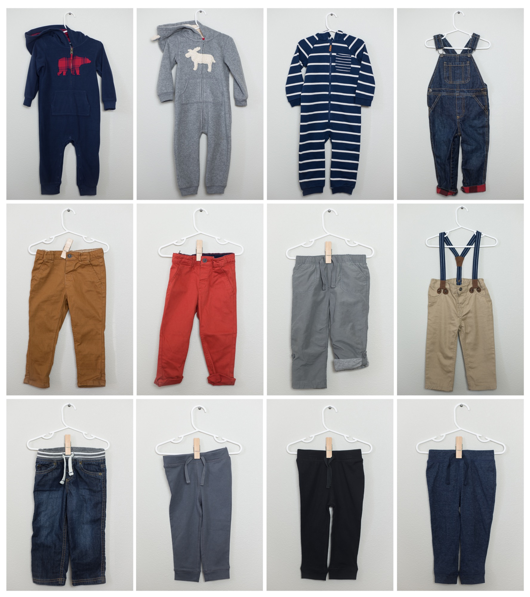 Toddler Boy Fall Capsule Wardrobe (with photos!)