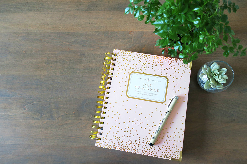 Quick & Easy Day Designer Planning Routine (SAHM edition!)