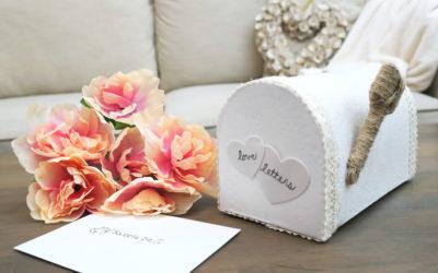 Dollar Tree Valentine's Day DIY | Farmhouse Valentine Mailbox Decor