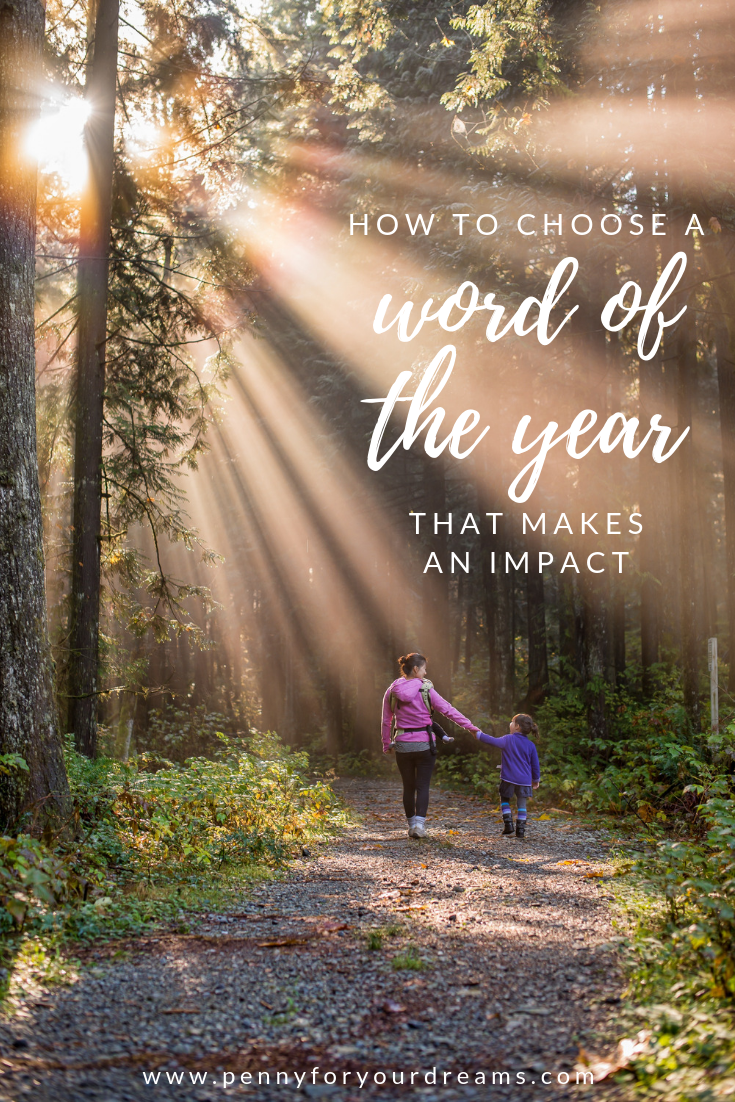 How to Choose a Word of the Year that Makes an Impact