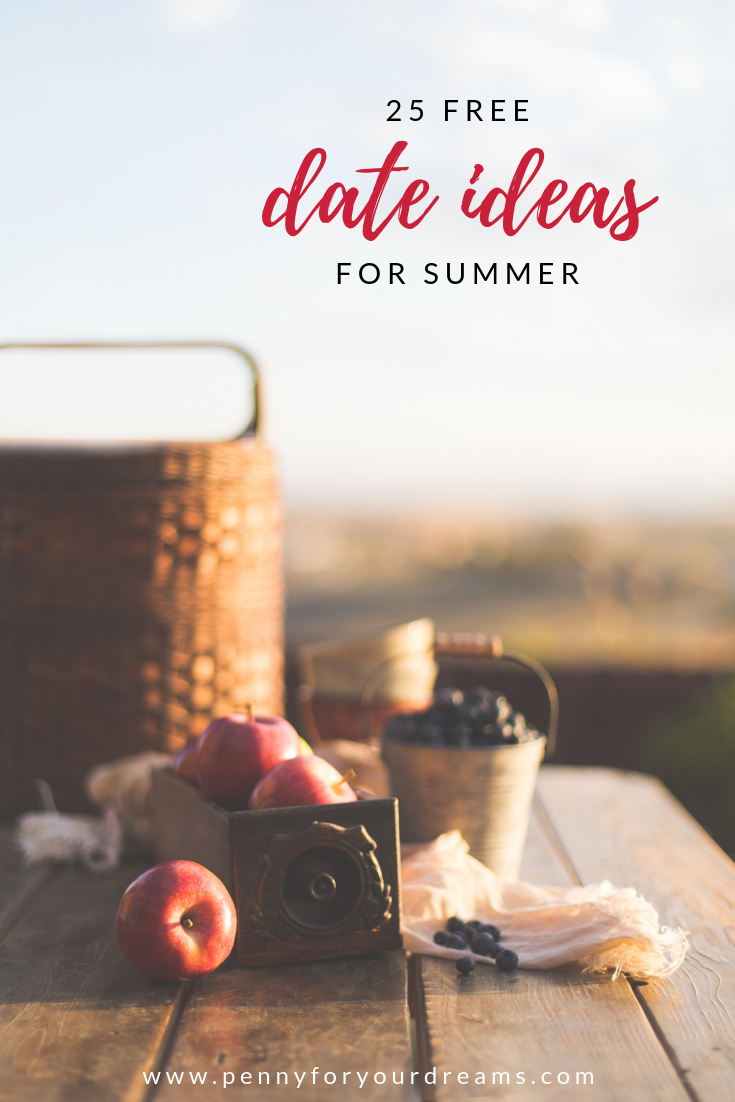 25 Free and Fun Summer Date Ideas