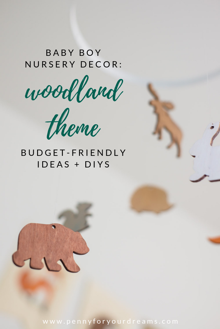Baby Boy Woodland Nursery Decor | Budget-Friendly Ideas & DIYs