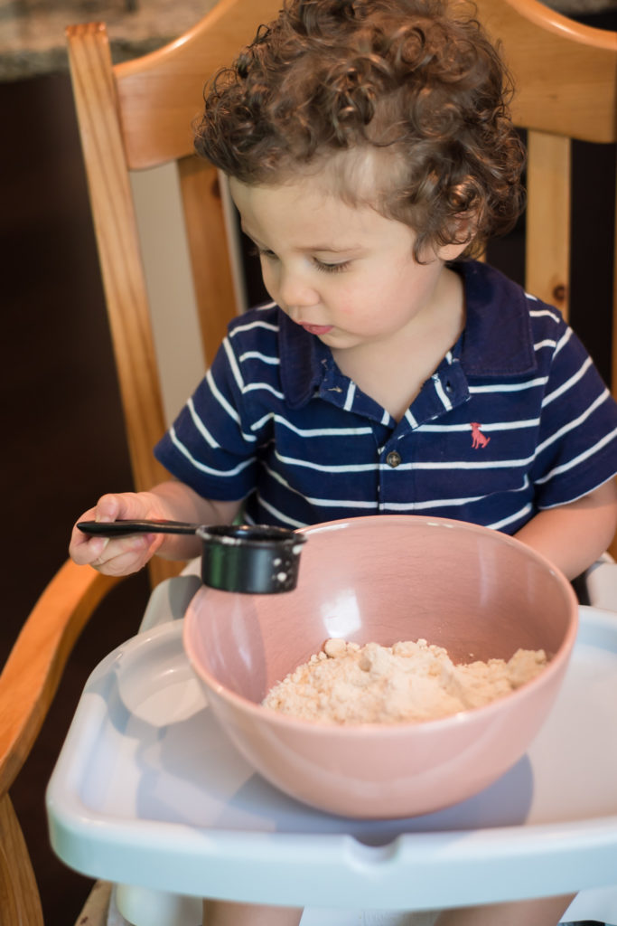Cooking in the kitchen with kids!