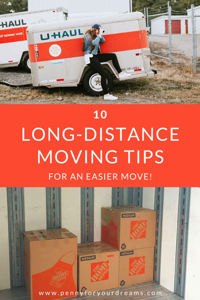 10 Long Distance Moving Tips For an Easier Move