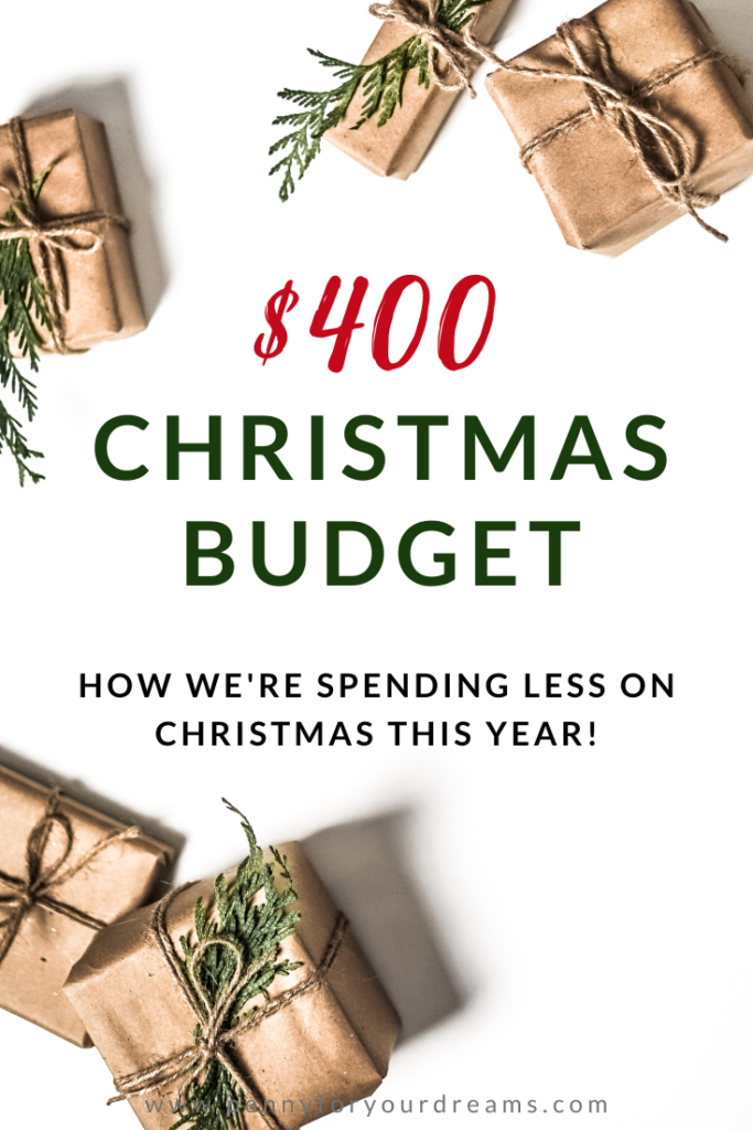 Our $400 Christmas Budget | How We're Spending Less on Christmas