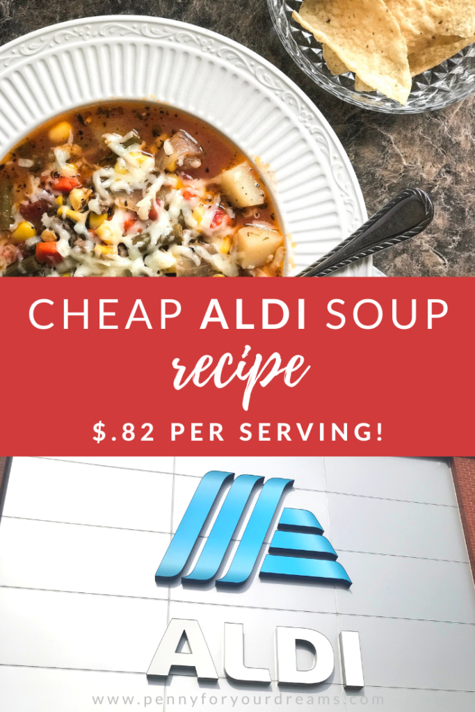 Cheap ALDI Soup Recipe! | $.82 Hearty Fall Meal