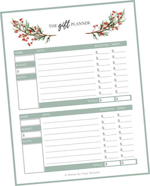 How to Budget for Christmas Gifts | Plan for Christmas Early